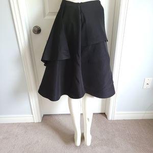 J.W. Anderson Asymmetrical Silk Wrap Skirt